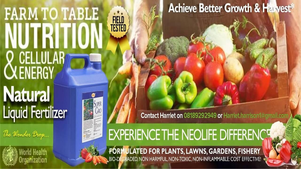 Super Gro: Plant Fertilizer